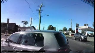 Elderly driver loses control and crashes into Car and House - Mount Pritchard NSW