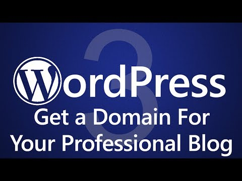 WordPress for Beginners - How to Get a Domain Name! ◄
