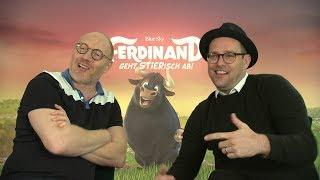 """Interviews """"Ferdinand"""" Synchronsprecher Ben Blümel und Simon Schwarz"""