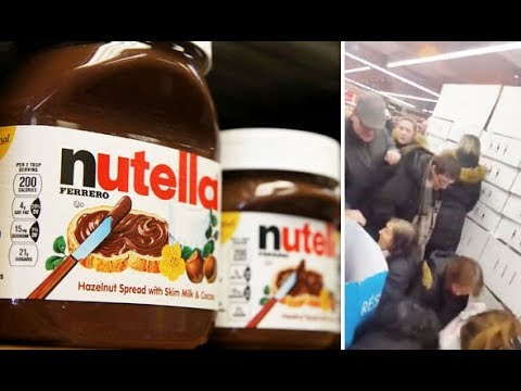 French people rioting over Nutella