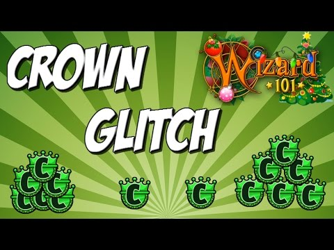 CROWNS GLITCH (WIZARD101 2016)