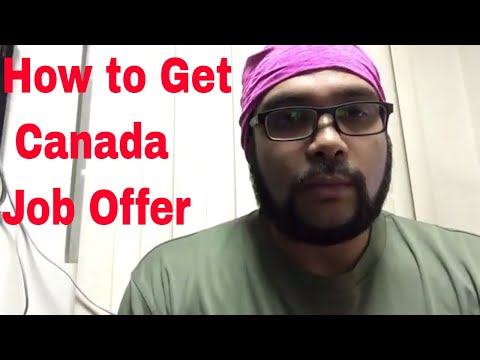 How To Get Job Offer From Canada | Apply Online