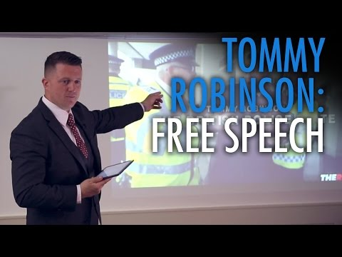 Tommy Robinson's BANNED speech: