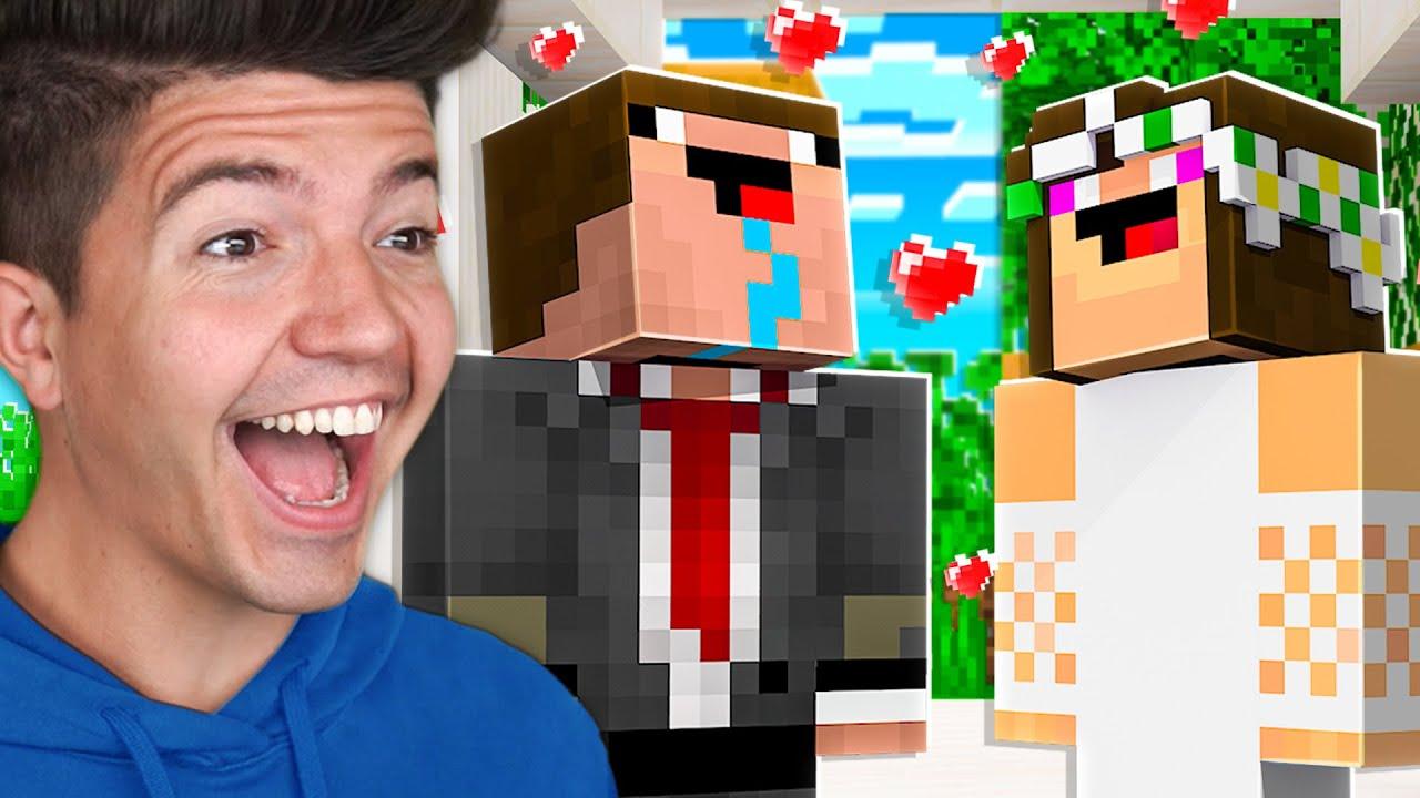 Noob1234 Got MARRIED! - Minecraft