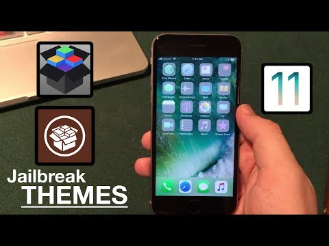 Install Jailbreak Apps Without Jailbreaking iOS 11: Themes!
