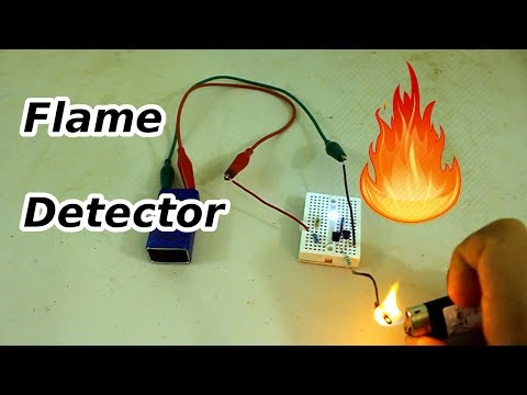 Simple Fire Detector Circuit