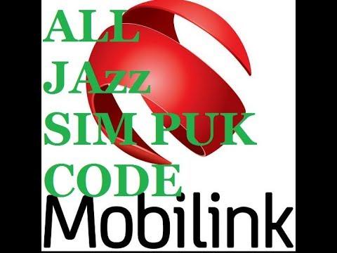 JAZZ SIM PUK Code Unlock