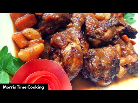 How To Cook The Best Fricassee Chicken | Lesson #49 | Morris Time Cooking