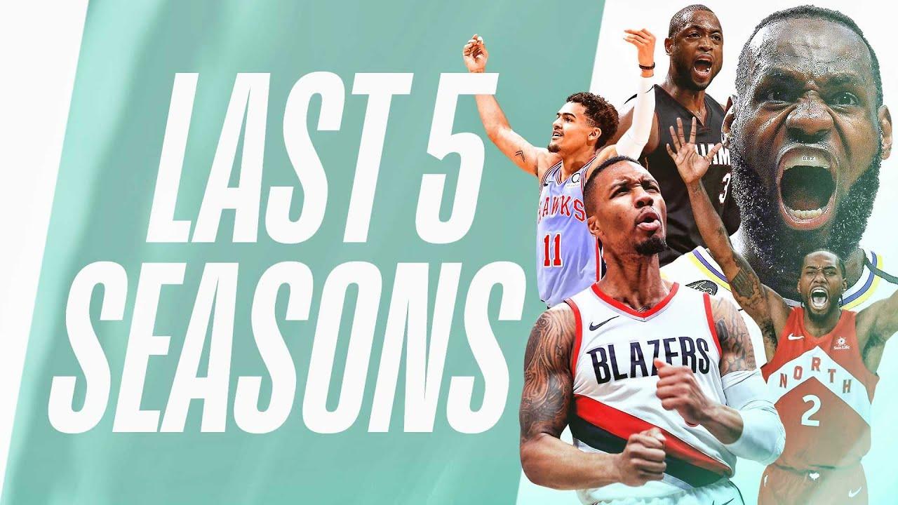 🚨Every #TissotBuzzerBeater 🚨 | Last 5 Seasons