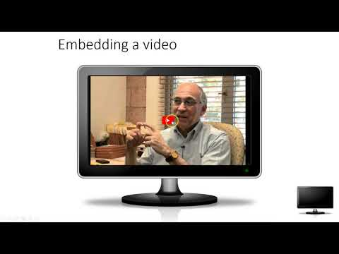 Embedding and inserting video in PowerPoint