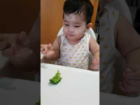 BLW 10 months baby. Having chickenpox