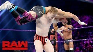Austin Aries & Gentleman Jack Gallagher vs. Neville & TJP: Raw, May 15, 2017