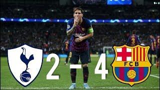 Tottenham vs Barcelona [2-4], Champions League, Group Stage 2018 - MATCH REVIEW