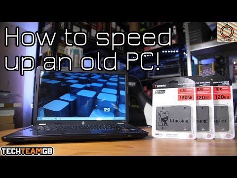 How to speed up your old PC fast (#KingstonTimeHacks)