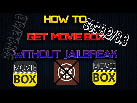 HOW TO GET MOVIE BOX ON IOS 8.2/8.3 (NO JAILBREAK)