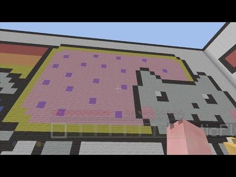 Minecraft Xbox - Nyan Cat Parkour - Cheetah!