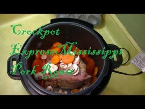 Crock Pot Express Mississippi Pork Roast (From Frozen)