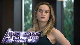 Avengers: Endgame Clip: Captain Marvel Explains Where She's Been