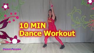 New Year Easy Dance Workout  10 Min -  Afslanken - vet verbranden