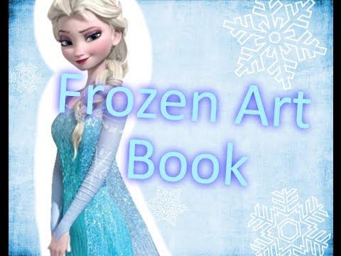 Frozen Art Book Flip Through