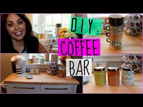 DIY: COFFEE BAR FOR YOUR HOME!