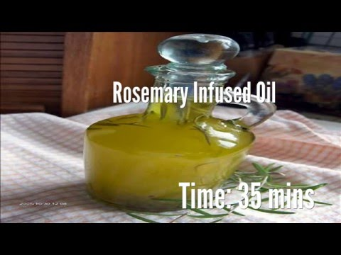 Rosemary Infused Oil Recipe