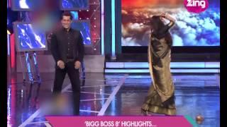 Rekha shakes her legs with Salman