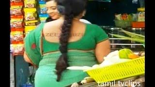 Serial Aunty Saree Show