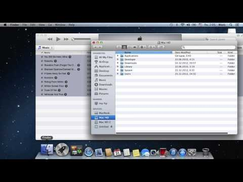 How to Transfer Music from a Mac to a PC