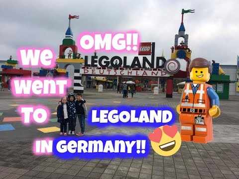 Surprise!!!! We're Going To Legoland Germany!!!! | VLOG#12