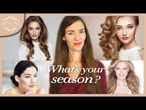 What's your season?   Seasonal color analysis   Justine Leconte