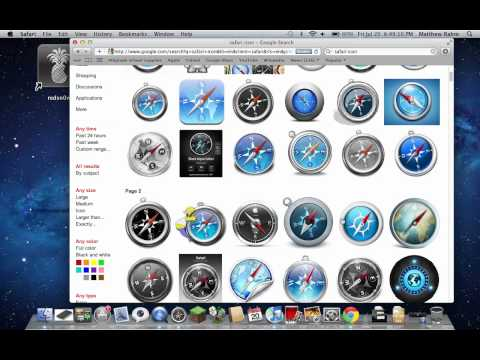 How to change any mac icon