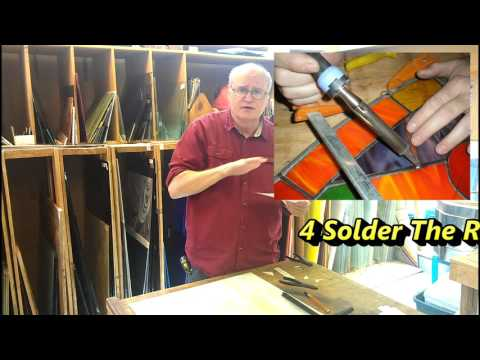 5 steps to take when a stained glass window separates