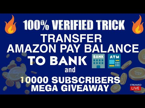 LIVE: AMAZON PAY TO BANK | 10K SUB GIVEAWAY • V TALK