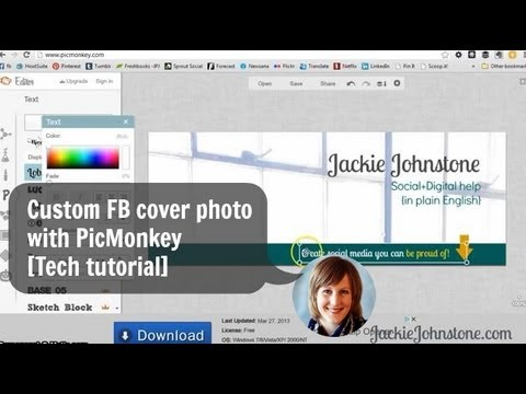 Create a custom Facebook cover photo with PicMonkey [Tech Tutorial]