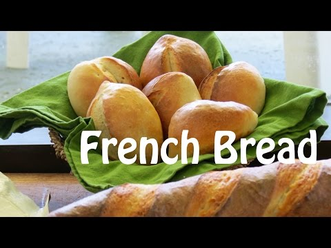 How to Make French Bread --  The Frugal Chef