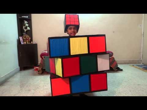 Sarayu Fancy Dress(2013) - Rubik's Cube
