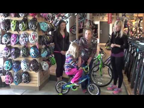 How to properly size and fit a bike for kids
