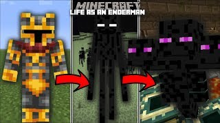 Minecraft LIFE AS AN ENDERMAN MOD / FIGHT OFF THE EVIL WITHER WITH YOUR ENDERMAN!! Minecraft