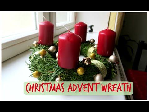 DIY Christmas Advent Wreath