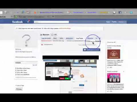 Facebook Tip - How to Add Youtube and Twitter to Your Facebook Fan Page