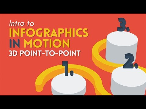 Intro to Infographics in Motion: Point to Point | After Effects Tutorial