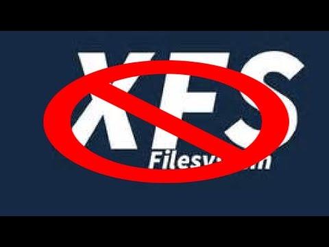 XFS = NoGo   It crashed!