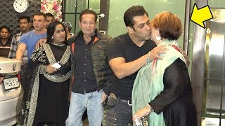Salman Khan Shows LOVE & Respect For Mom Helen In Front of Father Salim Khan