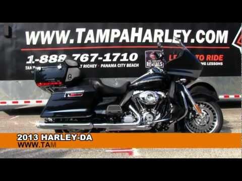 New 2013 Harley Davidson Road Glide Ultra FLTRU - review specs price