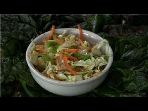 Cabbage Recipes : German Cabbage Salad