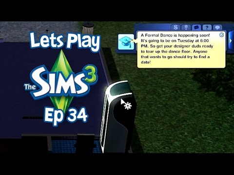 Let's Play The sims 3 Ep34 Getting a Prom date