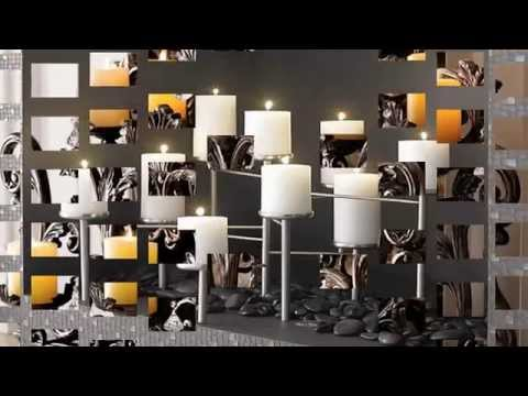 Candle Displays for Fireplaces – 12 Lovely Designs and Ideas