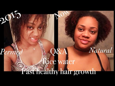 Q & A | About Rice Water for fast hair growth