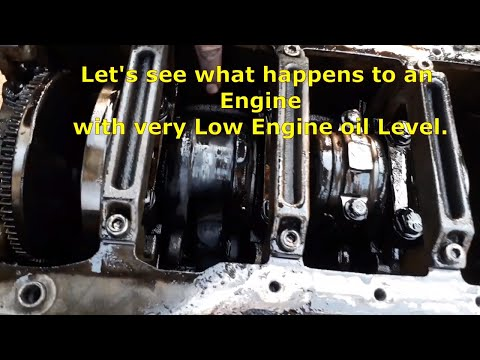 What Happens To An Engine With Low Oil?